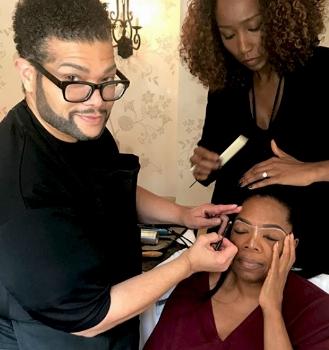 Derrick with Oprah Film television.jpg