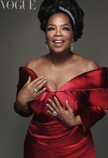 Oprah Winfrey BRITISH VOGUE