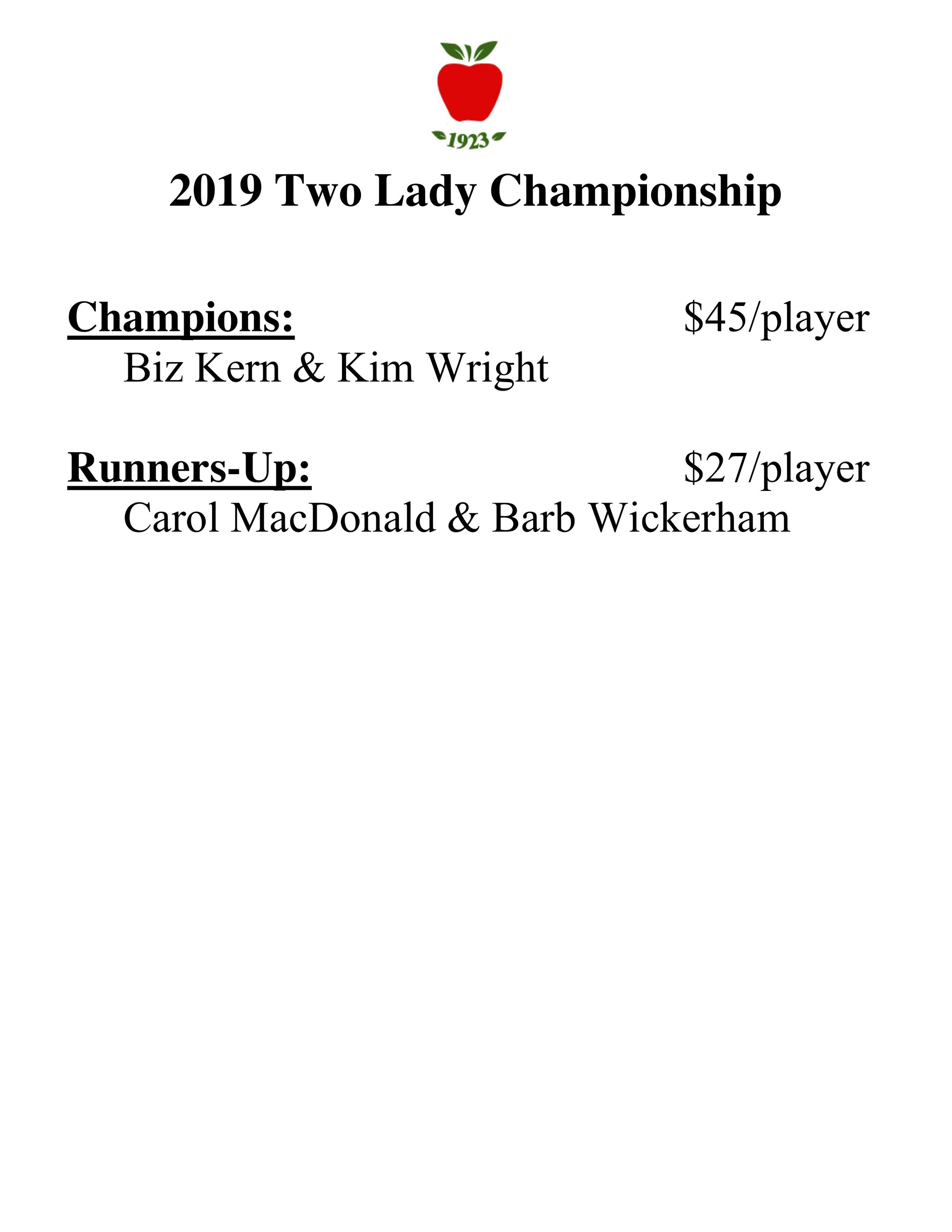 2019 two lady championship results.jpg