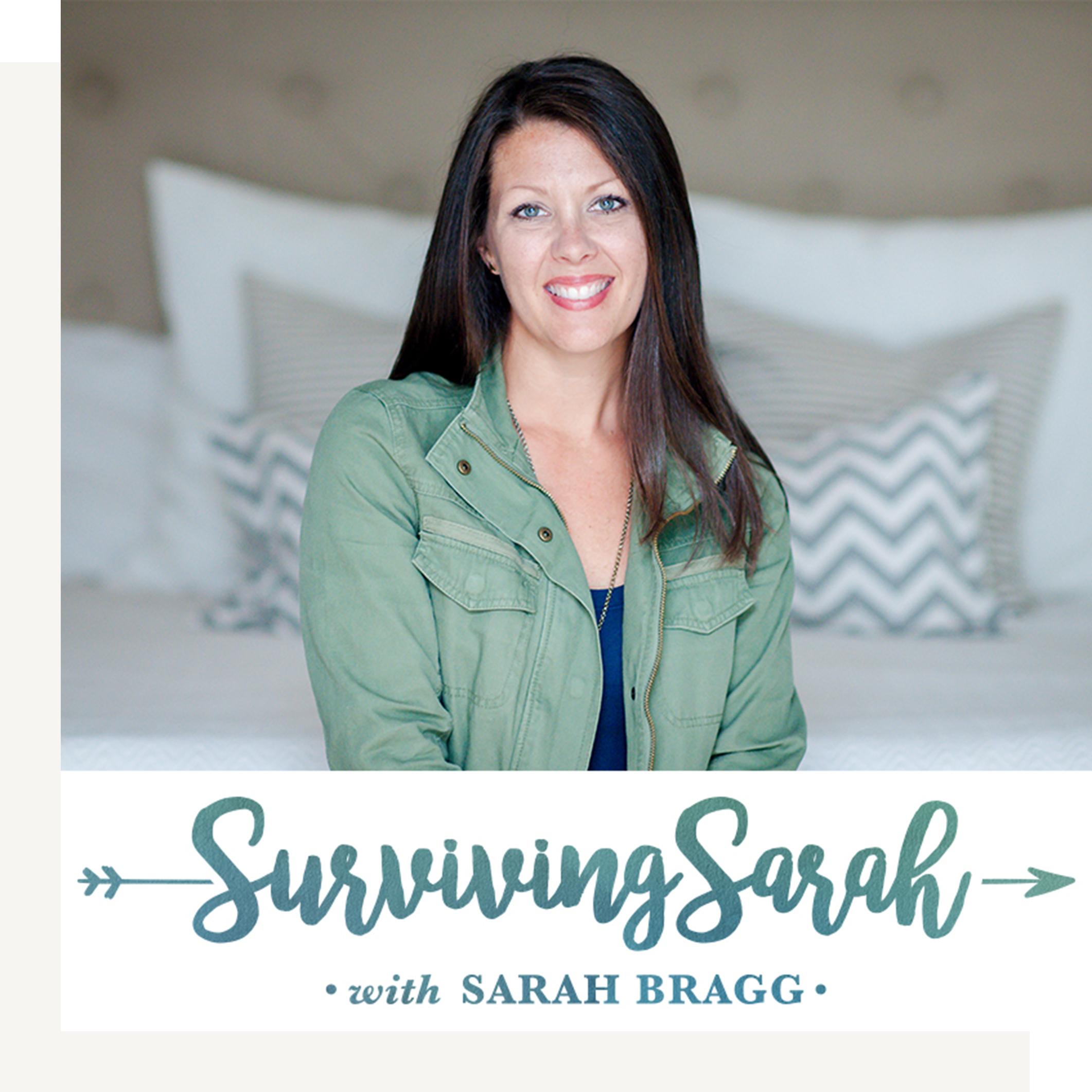 Surviving Sarah Podcast Art