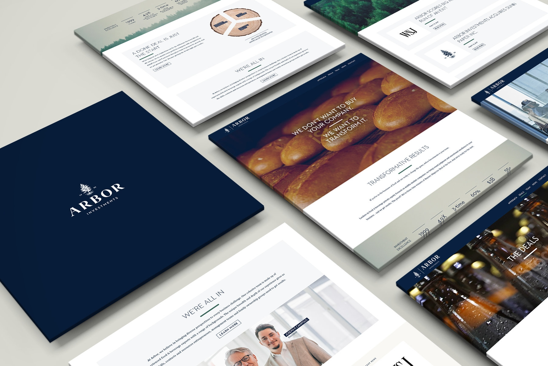 Arbor Investments - Website redesign