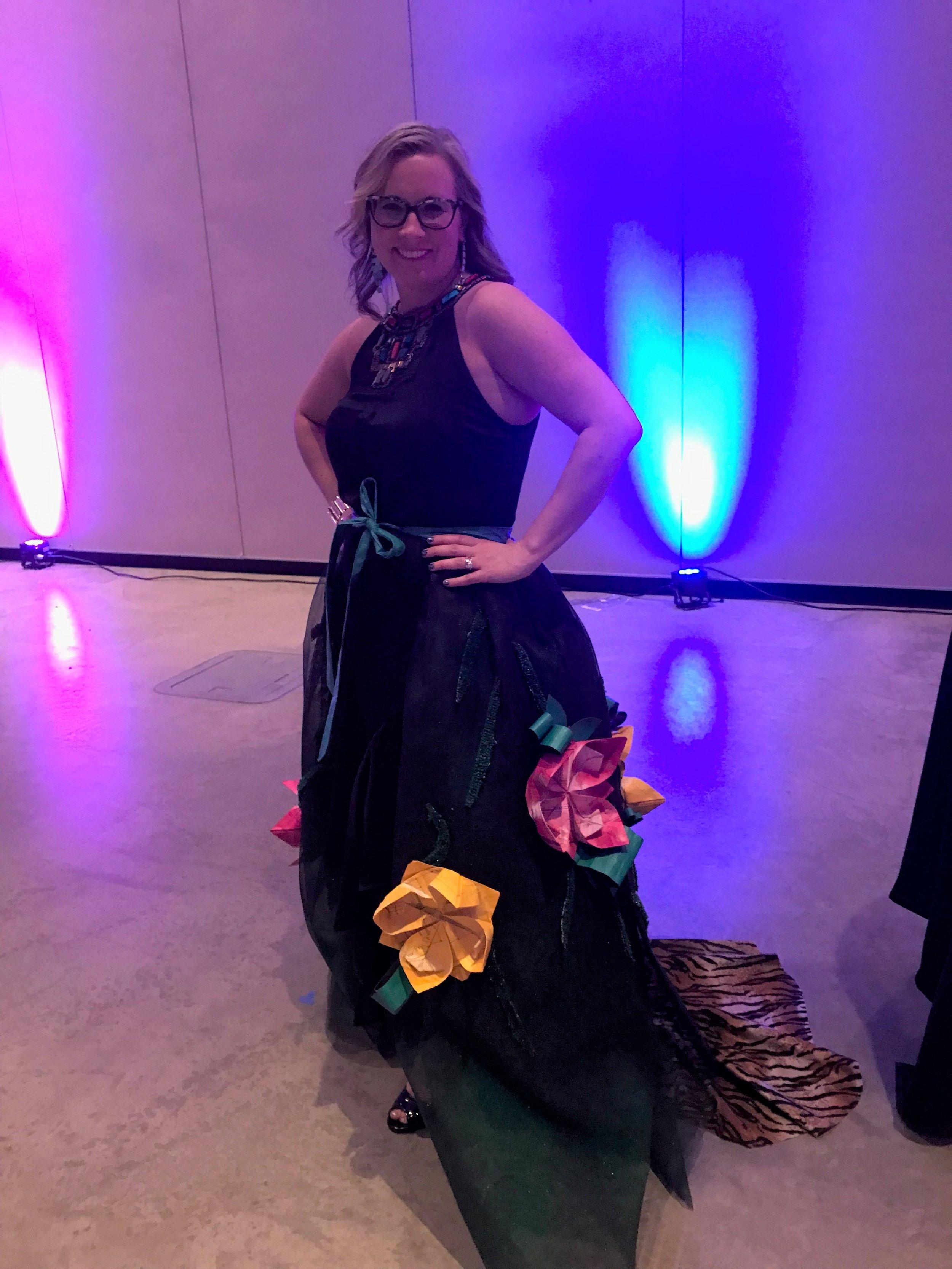Jessica's turn to strut her stuff :)