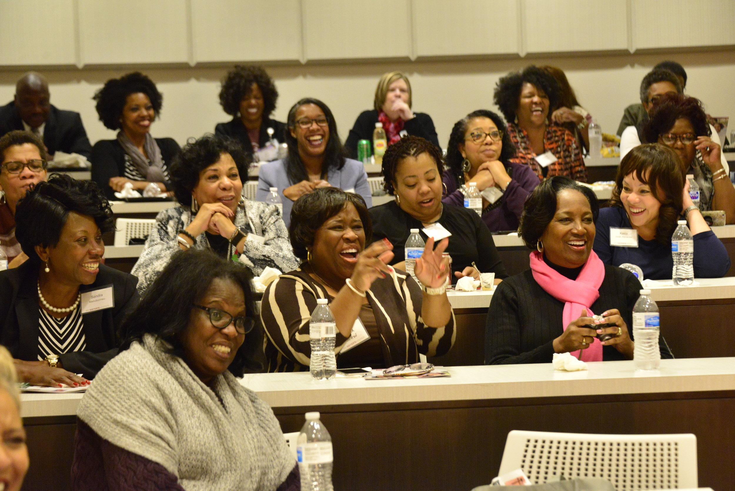 Participants at the inaugural My Sister's Keeper summit.