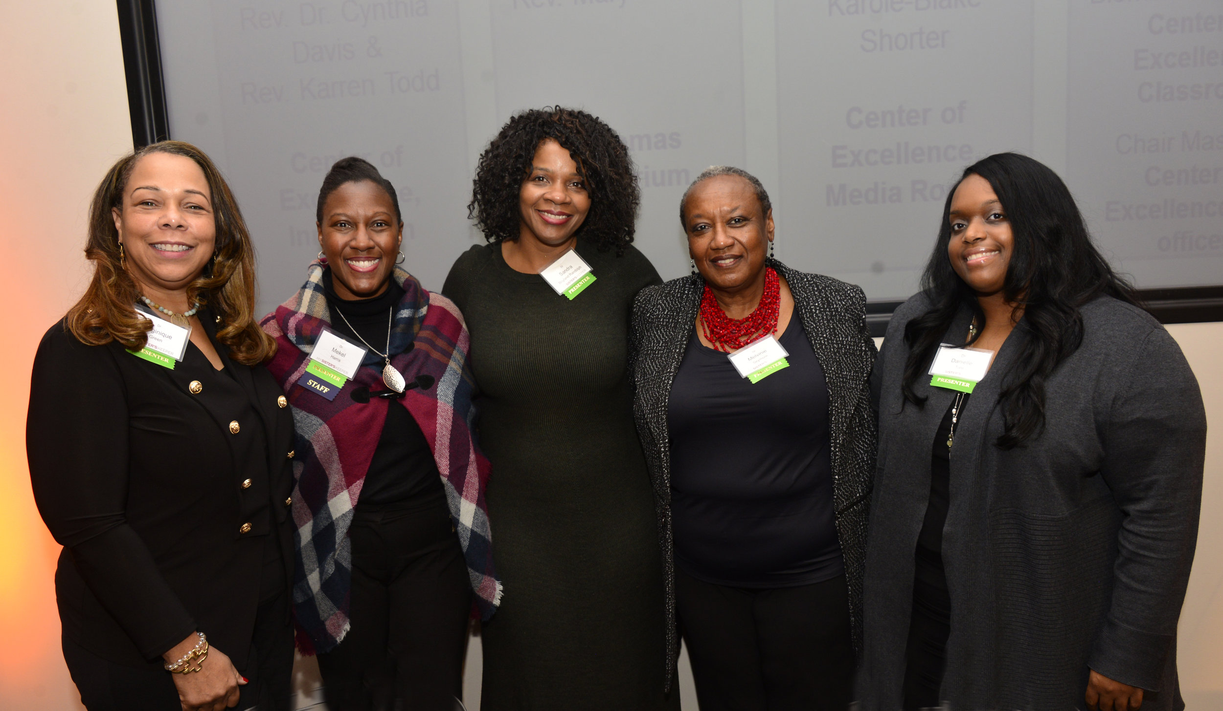 """Physicians from the """"Ask the Docs"""" panel at the inaugural My Sister's Keeper summit."""