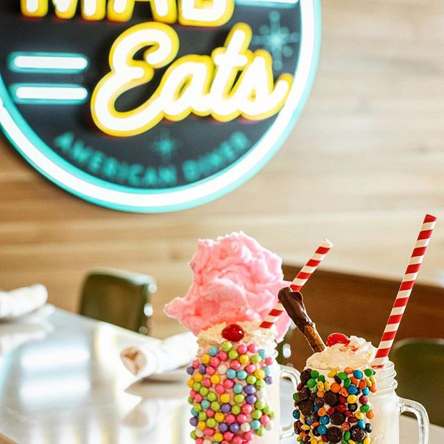 """In honor of Spring, we bring you MILKSHAKE MADNESS!  Join us between 3-6pm Monday thru Friday for HALF PRICE SHAKES!! * *Limited time only.  Excludes """"Boozy Shakes"""""""