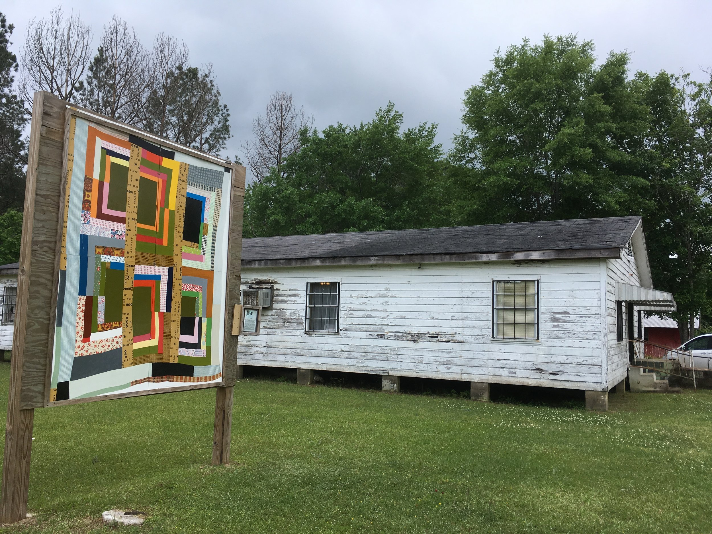 The Gee's Bend Quilt Collective building.