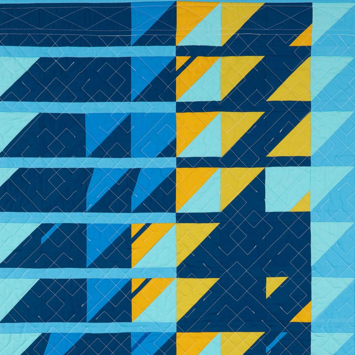 Vdol Po Travke - Sung BY Tatiana Khvastunova, Tatiana Panova, Ekaterina Kharlanova, Tatiana Golvskaya - Arkhangelsk, russia 2017Designed, pieced, and quilted by EHJ 2017