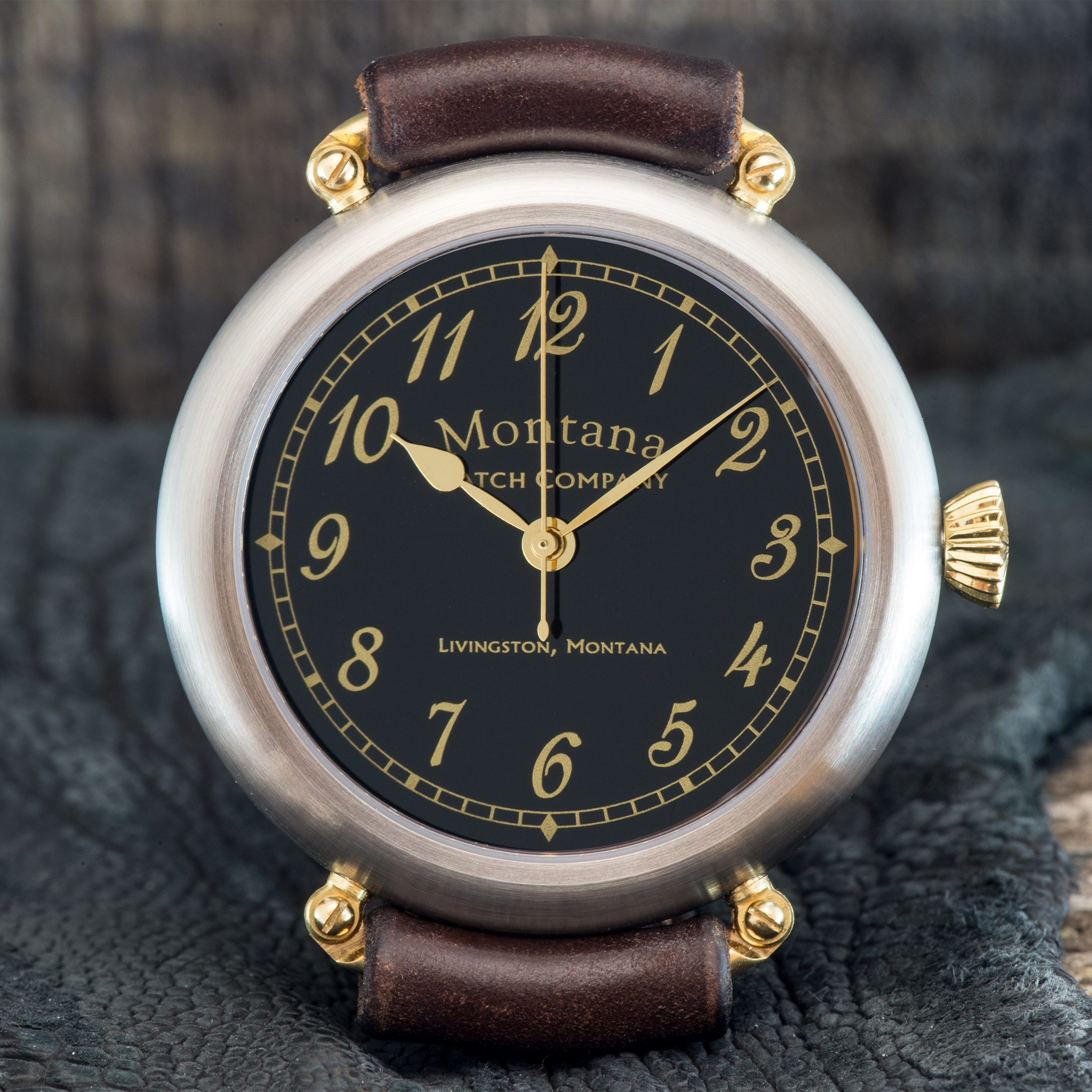 Officer's Watch Classic Satined