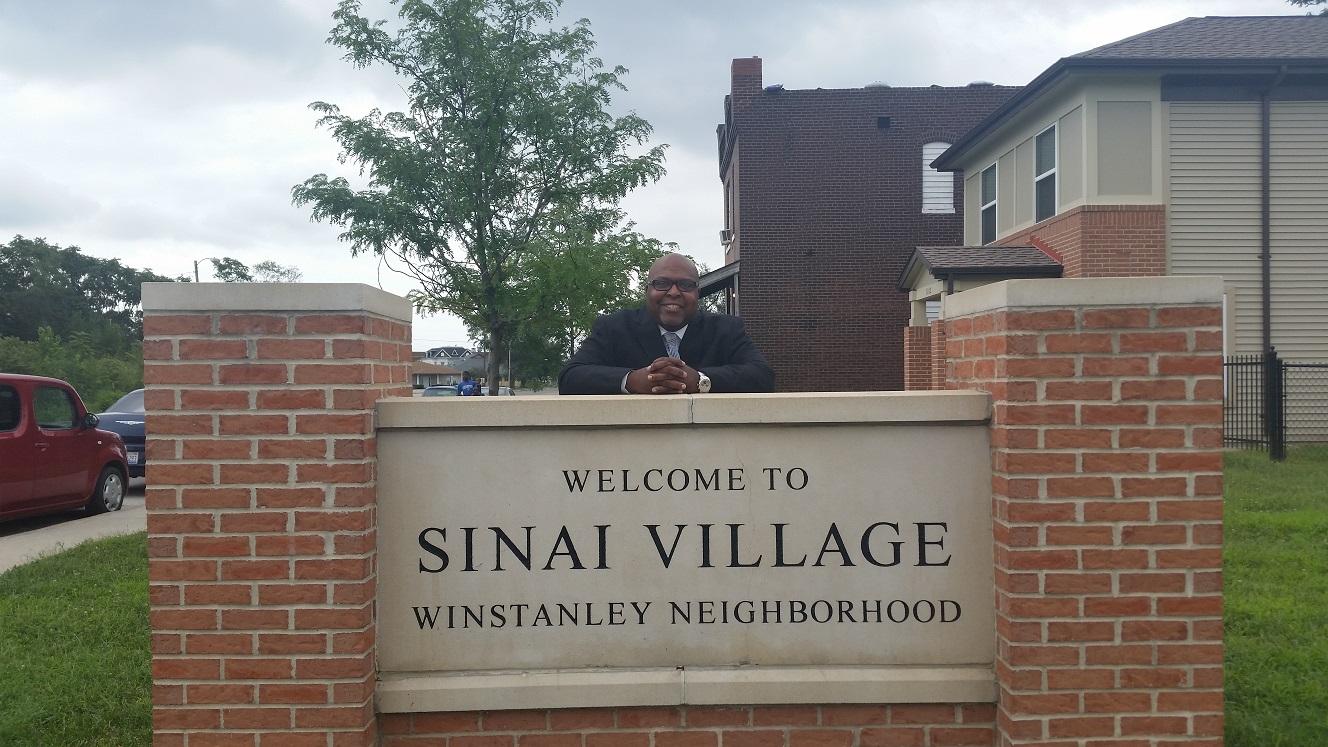 Dennis Jackson, Executive Director of Sinai Family Life Center