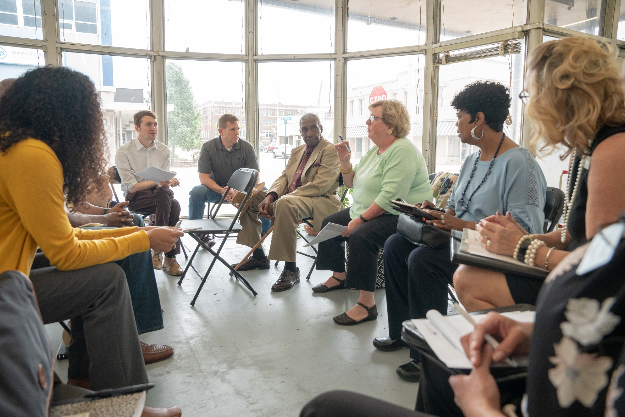 Building bridges across st. louis and advocating for policies that strengthen our civic muscle -