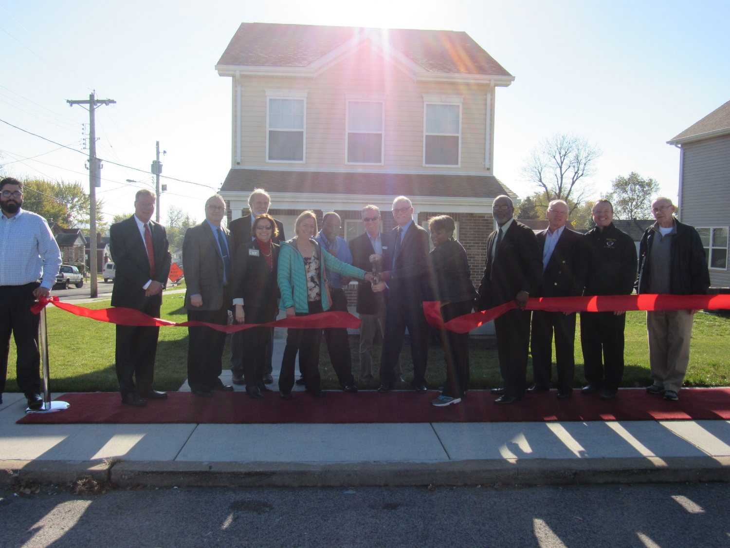 Lemay Homes Grand Opening and Ribbon Cutting Ceremony, November 2016
