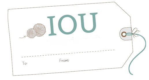 IOU - Fathers day