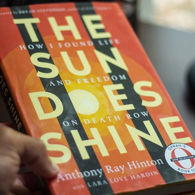 """""""The Sun Does Shine, The Sun Does Shine"""" — Ray's words to the crowd after 30 years on death row. — This book was an eye opener for me, from the flaws of the criminal justice system and the death penalty but also on themes of judging others and forgiveness. Ray was 29 when he was arrested in Alabama for crimes he didn't commit because the criminal justice system penalizes black and brown people, especially those who are not wealthy. Not only that, but a system that is also prejudiced. """"If I'd had money, I could have gotten an attorney who felt like he was paid for his time. If I'd had money, I probably wouldn't have been arrested in the first place."""" — The first theme I took away was of judging others, and love. On death row, Ray meets Henry Hays, member of the KKK responsible for the lynching of Michael Donald in Mobile, Alabama in 1981. Also one of the last lynchings in the United States. At first, Ray didn't know this, and Henry was one of the first friends that Ray made on the row. When Ray finds out, he expresses that his mom taught him compassion and to love everyone and that he was sorry that Henry's parents taught him how to hate. On death row, Ray said, we aren't monsters, we are guys trying to survive the best way we can. It didn't matter who was black or white """"Sometimes you have to make family where you find family, or you die in isolation."""" — from the conversation in the cell to the book club that Ray started, Henry became a part of Ray's family, and loved him like his own despite his past actions. On June 6th Henry was executed and Ray banged on the bars of his cell to let him know that he cared and that he was not alone. """"Why do we judge people less worthy of justice? Why does innocence have a price?."""" — I admired the theme of forgiveness. It wasn't just because of the systemic disadvantages of the criminal justice system that put Ray on death row but also the mere actions of those in power. People lying on the stands and those who were coerced but thr"""