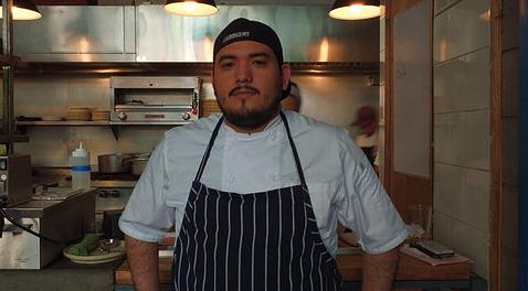 Chef Alejandro Zarate of Campobaja. Photo by Cristina Lugo.