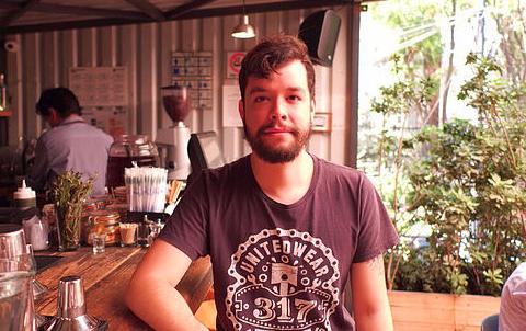 Chef Bruno Nomuro of Bar Oriente. Photo by Cristina Lugo.