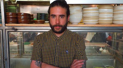Bernardo Galindo, GM at Campobaja, Bar Oriente and Can Can. Photo by Cristina Lugo.