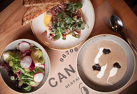 Lunch Prix Fixe at Can Can. Photo IG @cancancdmx