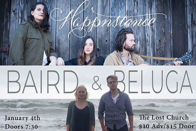 Start 2019 on the right note 🎶 This Friday is our first show of the year, opening for our friend's @happnstance at @thelostchurchsf 😎 Tickets are available on the Lost Church site. See their profile for more deets, and hopefully we'll see ya Friday!