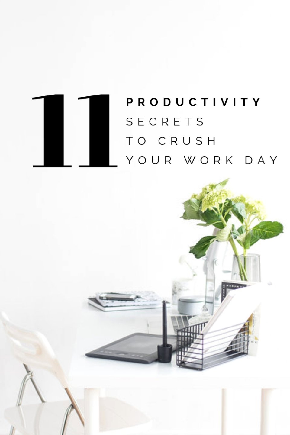 How to be more productive in your business! We've got 11 awesome tips to help you get your work done!     #girlboss     #productivity     #smallbusiness