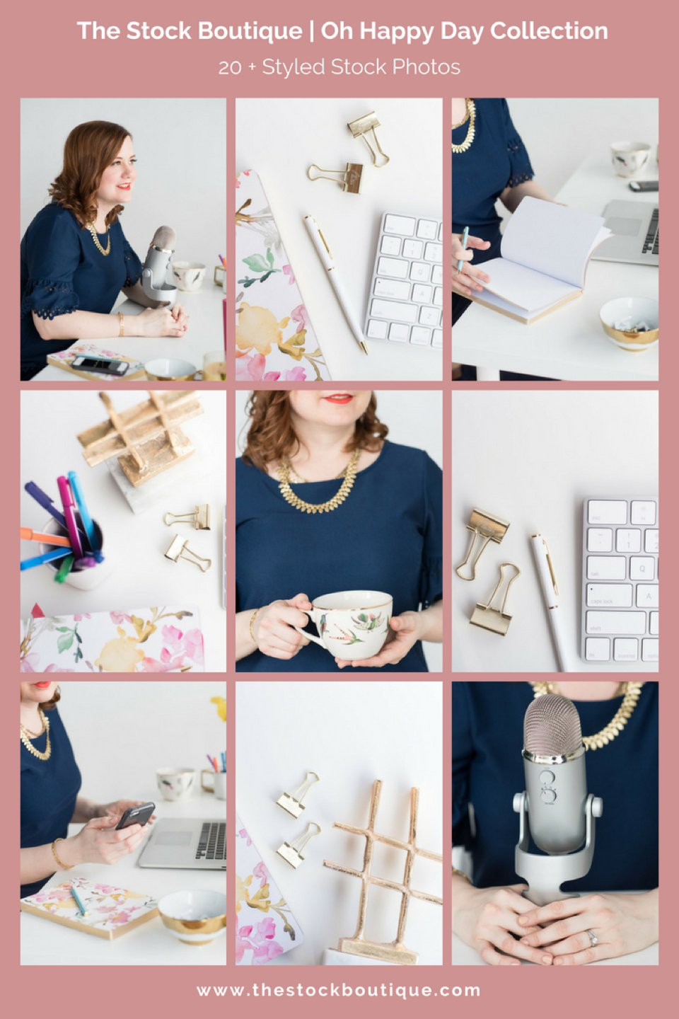 Girl Boss Stock Photography Collection. We giveaway a stock photo every month when you subscribe! - The Stock Boutique   #stockphoto     #femaleentrepreneur    #smallbusiness