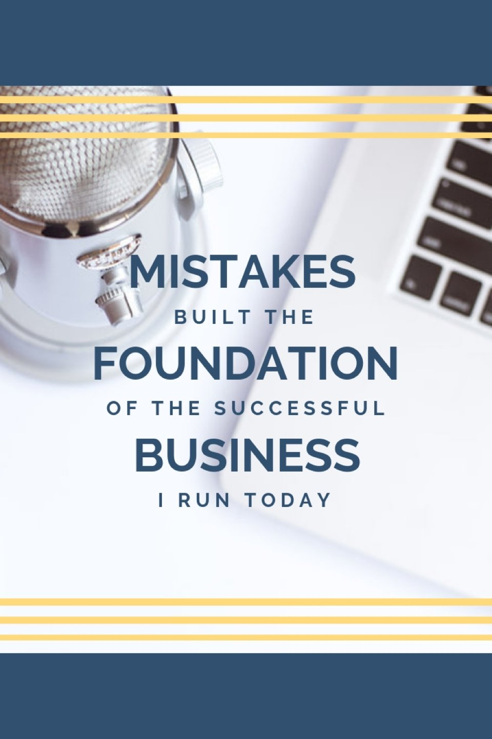 """In the words of the great Tony Robbins, """"no matter how many mistakes you make or how slow you progress, you are still way of ahead of anyone who isn't trying."""" How to overcome your mistakes as a business owner, solopreneur tips, small business tips."""