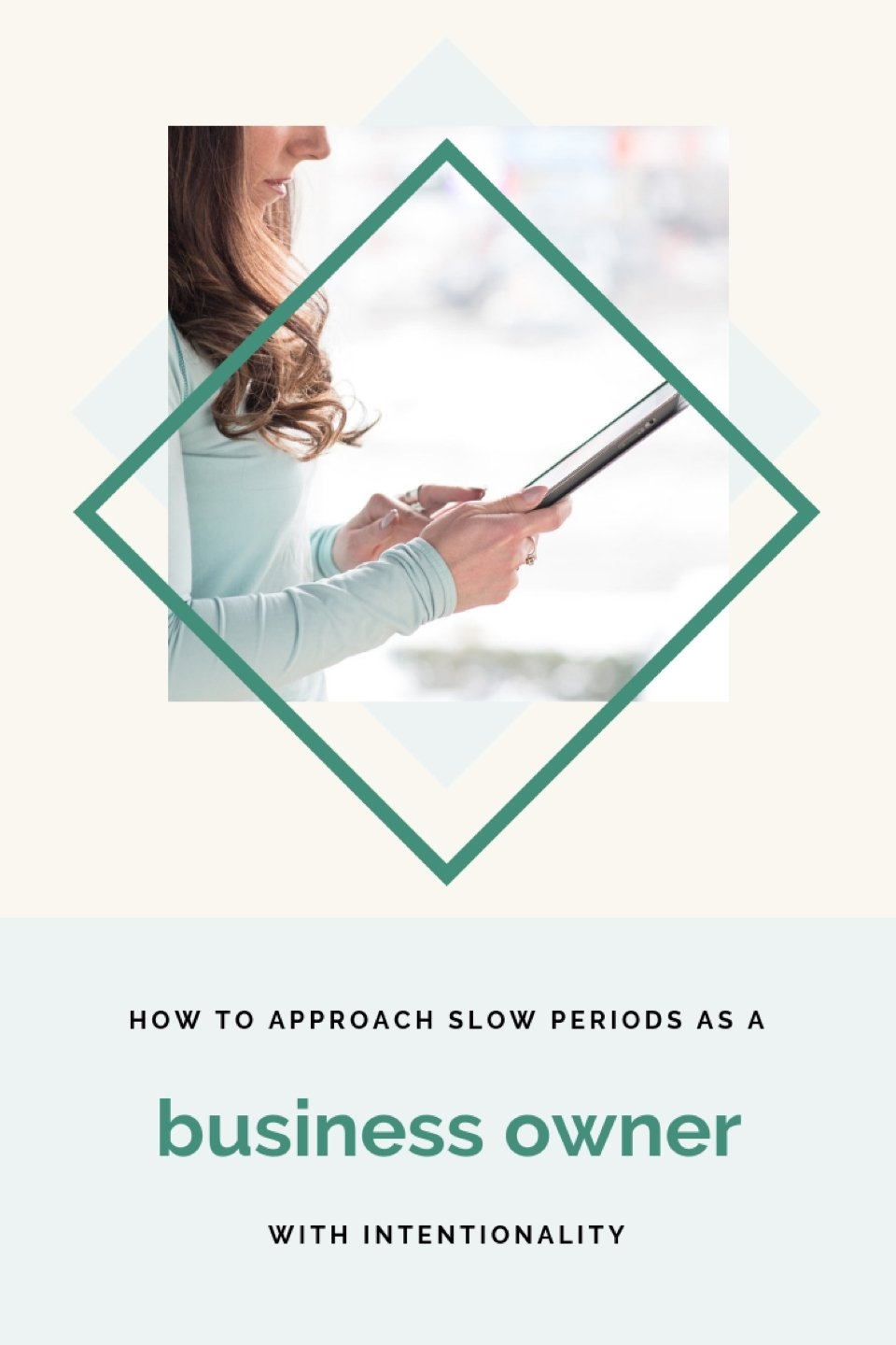 "A friend asked me an interesting question last week, ""how do you feel during your slow periods as a business owner?"" What made this question interesting to me is that he didn't ask ""what do you do during your slow periods?"" - How to approach slow periods with intentionality as a business owner. #smallbusiness #girlboss #entrepreneur"