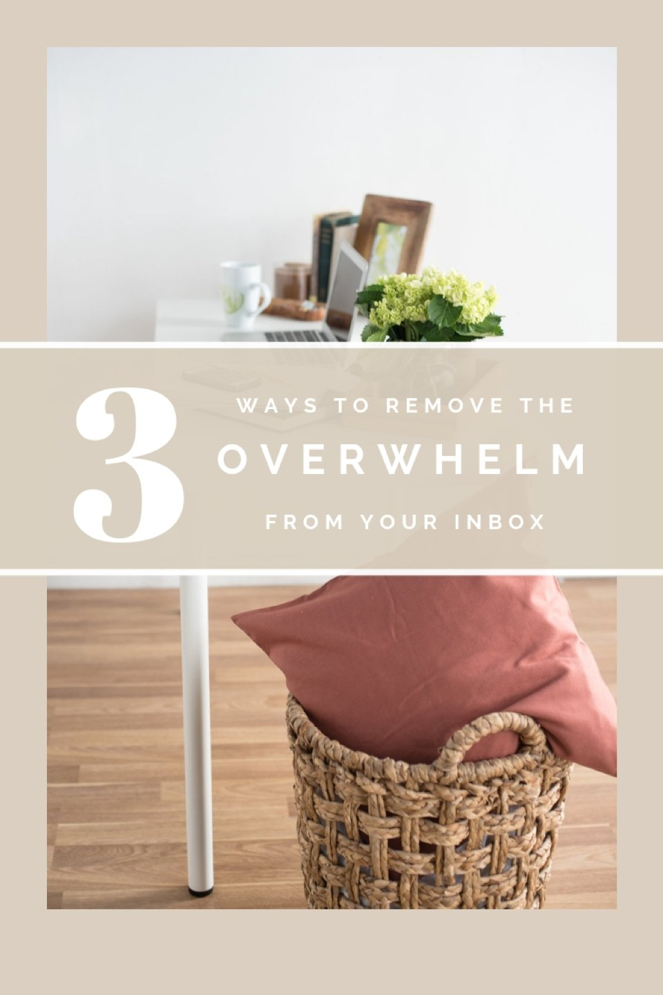 Here are a couple quick and easy inbox tips to help increase your organization and decrease the feeling of overwhelm when opening your inbox!  #solopreneur   #girlboss  #entrepreneur #inbox