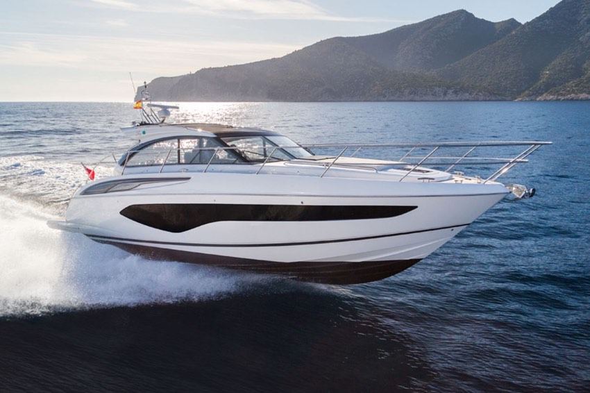 2018 PRINCESS V50 OPEN 'New STOCK BOAT' - VOLVO IPS 600 • 435 HP • DELIVERY HOURS4 BERTHS IN 2 CABINS • 2 BATHROOMSITALY / SALE PENDING