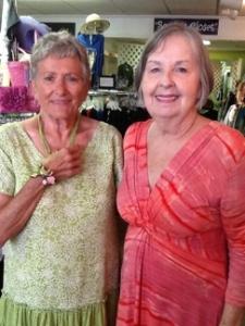Sharon Daily and Eileen Pokornik