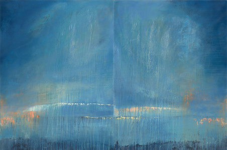 reflective diptych