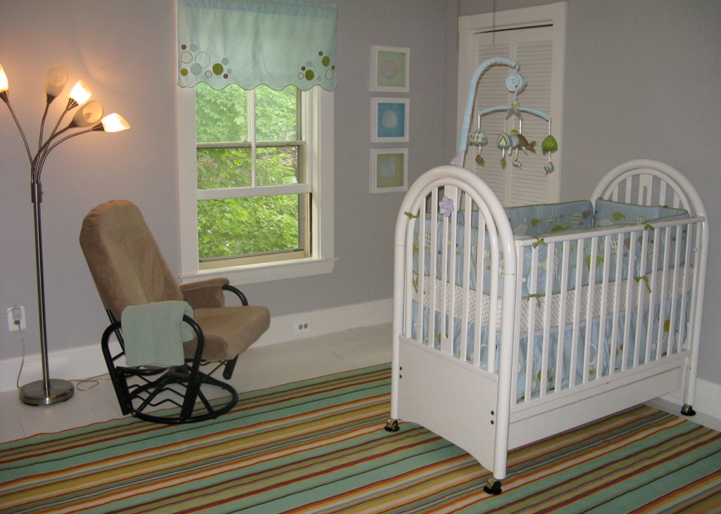Finishing Touches Make the Nursery