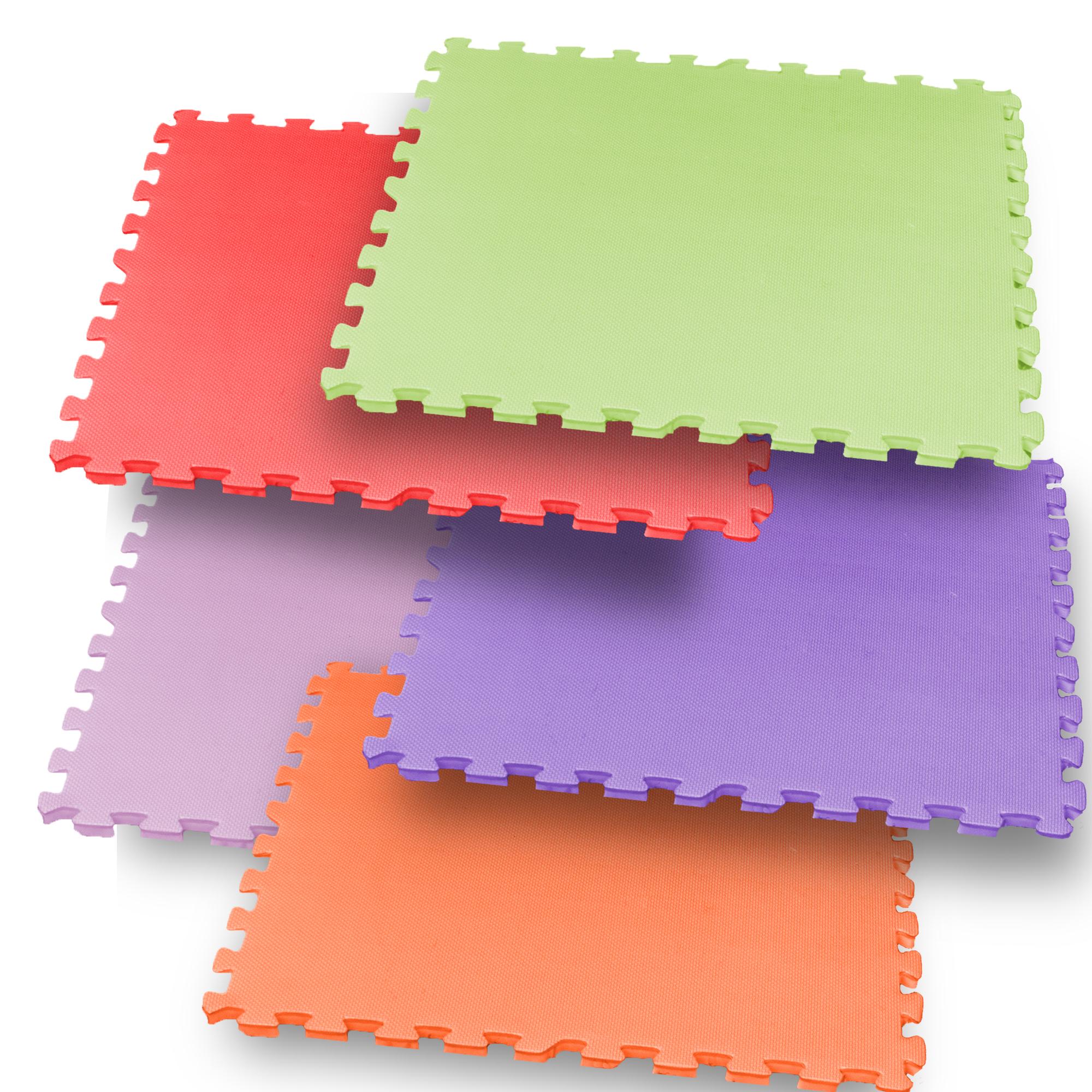 """PISO ENTRELAZABLE - De venta por unidades o set. Disponible diferentes grosores y colores. *Precios varian en relación a número de unidades y grosor Medidas: 24""""X24""""X5/8"""""""