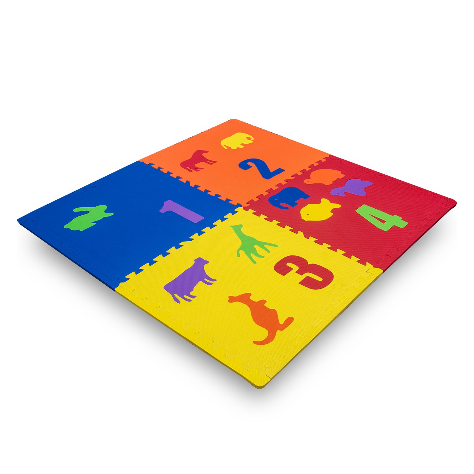 """ANCLA PISO ENTRELAZABLE DE FIGURAS TROQUELADAS - De venta por set de 4 unidades incluye 8 orillasDisponible diferentes grosores y colores.Medida: 24""""X24""""X1/2"""""""
