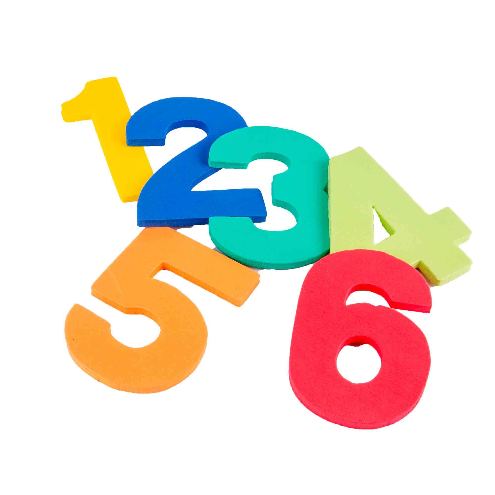 BOLSITA NUMEROS DEL 0-10 EVA LISA - Espesor: 15XXCódigo: B-123