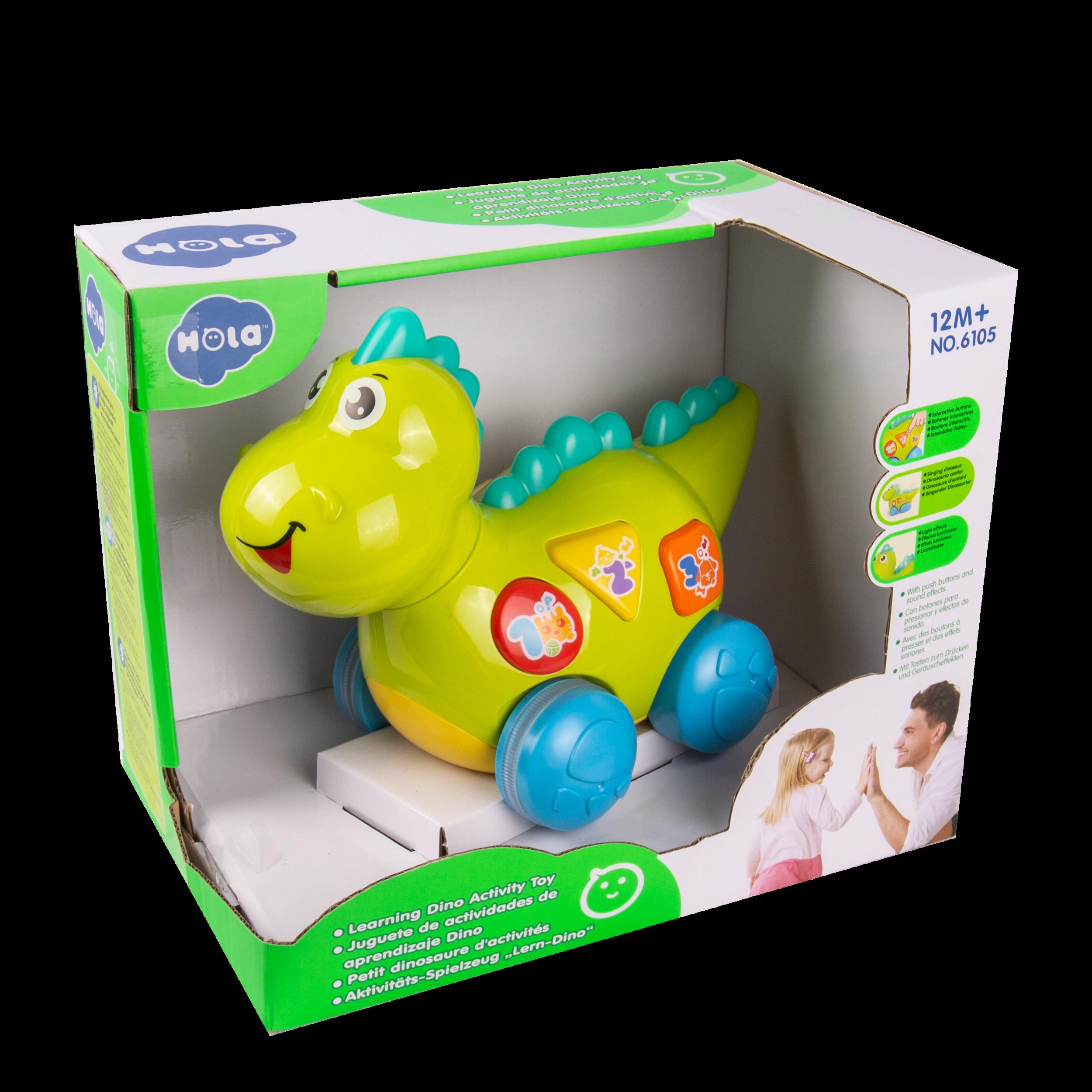 Juguete de Actividades de Aprendizaje Dino - Código: 6105