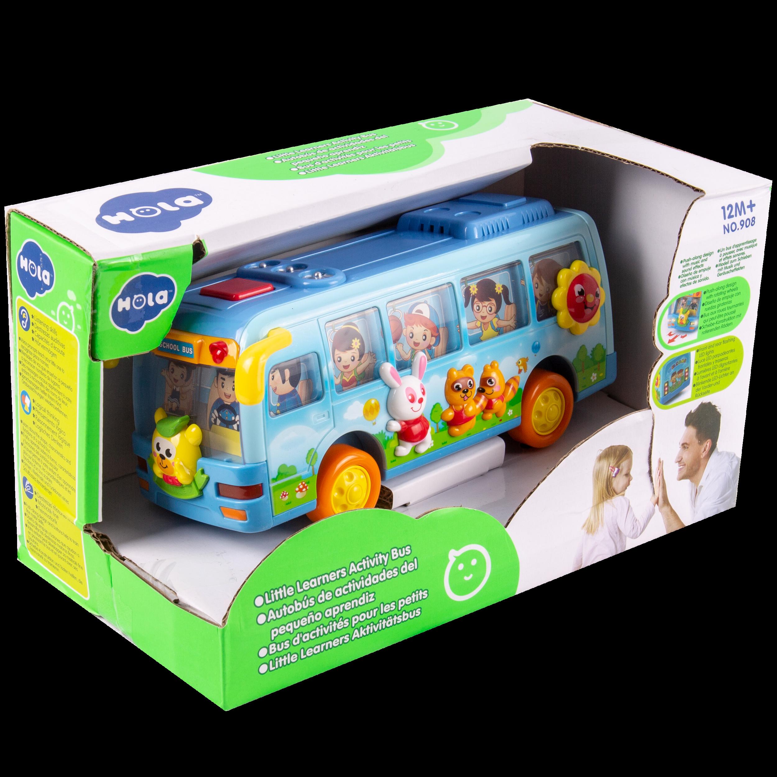 Autobús de Actividades del Pequeño Aprendiz - Código: 908