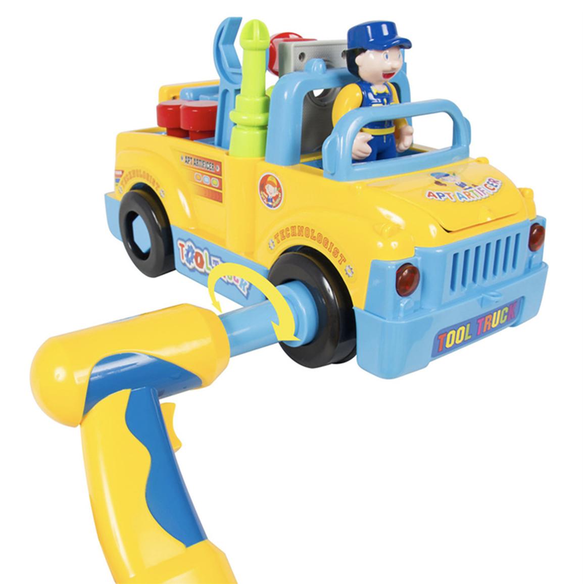 Pequeño Camión Mecánico de Herramientas - Código: 789
