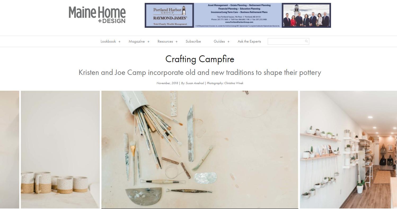 Maine Home Design Feature Campfire Studios The Black Box