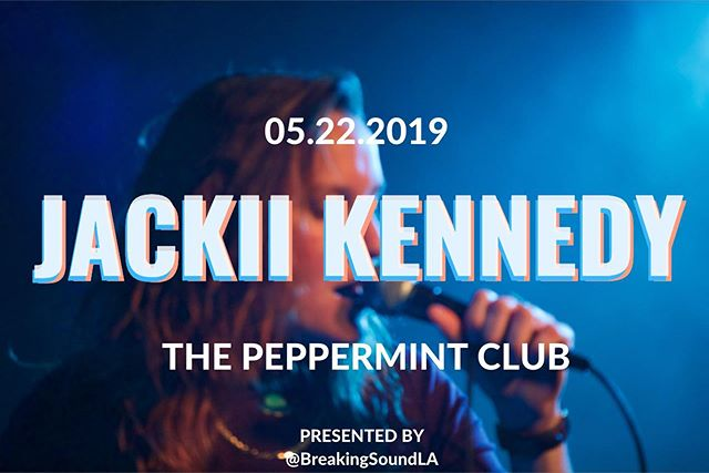 WEDNESDAY NIGHT!! Come party w me at @thepeppermintclub along with a few other dope ass artist. All put on by @breakingsoundla. Get your presale (cheaperrrr) tix w the link in my bio!! See y'all there💕