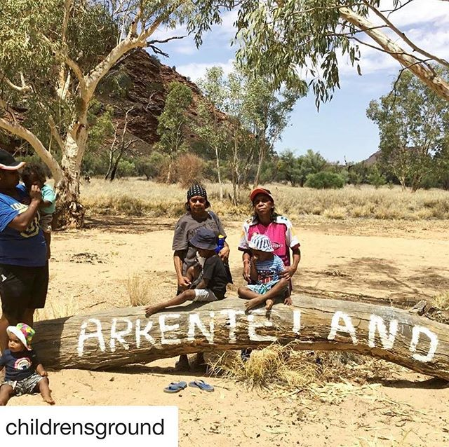 "📸 @childrensground ・・・ ""This is Arrernte Country. Respect it! When you respect the land, the land respects you. Country has eyes – just like us. Every hill, tree and rock is watching. Every hill, tree and rock is sacred. As Arrernte people, we share this Country with everyone who lives in Mparntwe (Alice Springs). We don't own the land, the land owns us. We are teaching our children to respect the Country. They are the next generation who will look after this place and share it with you. Respect the land and you respect us."" - Marita McMillan, Ampe-kenhe Ahelhe (Children's Ground) Senior Arrernte Educator, leads an Early Years Learning on Country session at Honeymoon Gap, Central Australia. . . Connect with the land. Take a walk. . . #arrerntecountry #arrernte #mparntwe #alicesprings #aboriginalland #alwayswasalwayswillbe #sovereignty #traditionalowners"