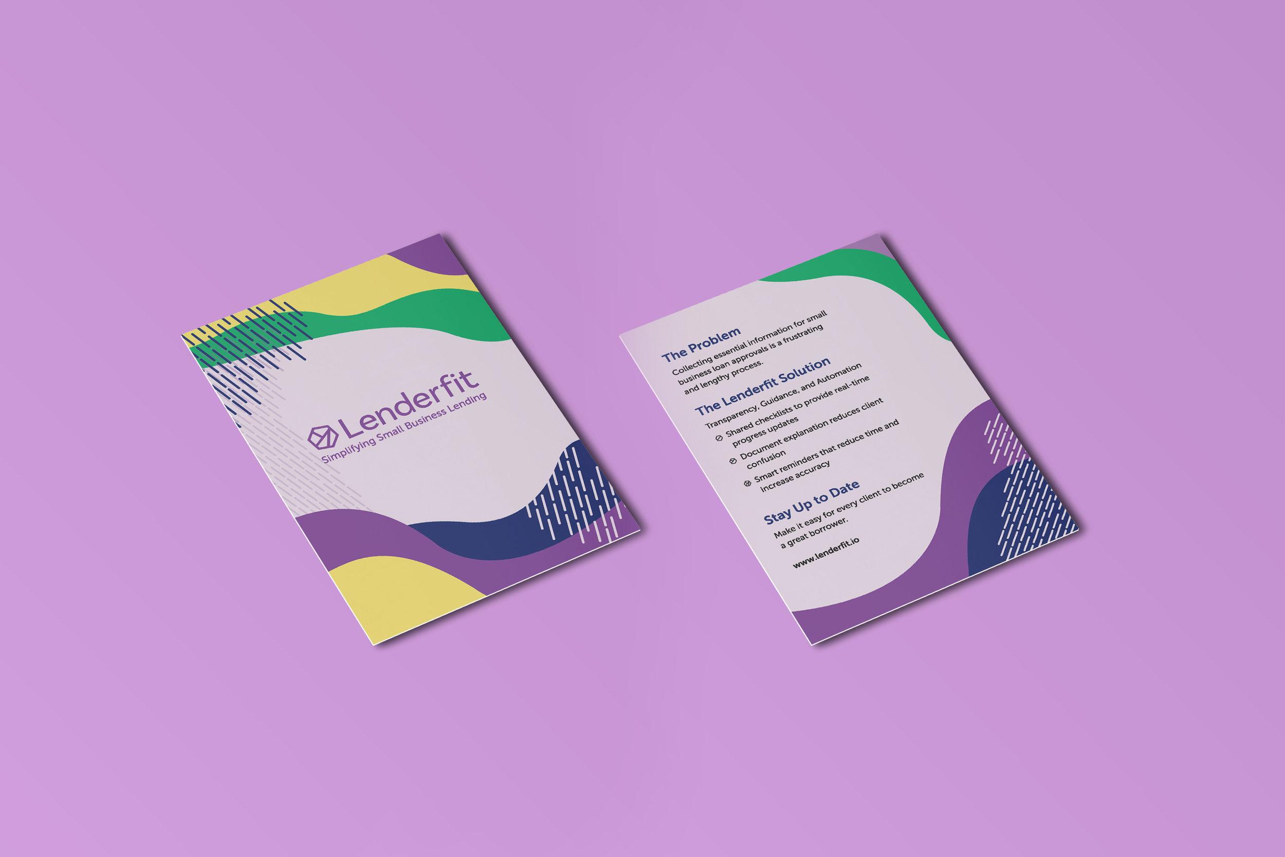 Lenderfit Flyer Design