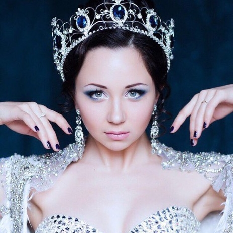 The empress, Elizaveta Tuktamysheva ( Photo credit ).