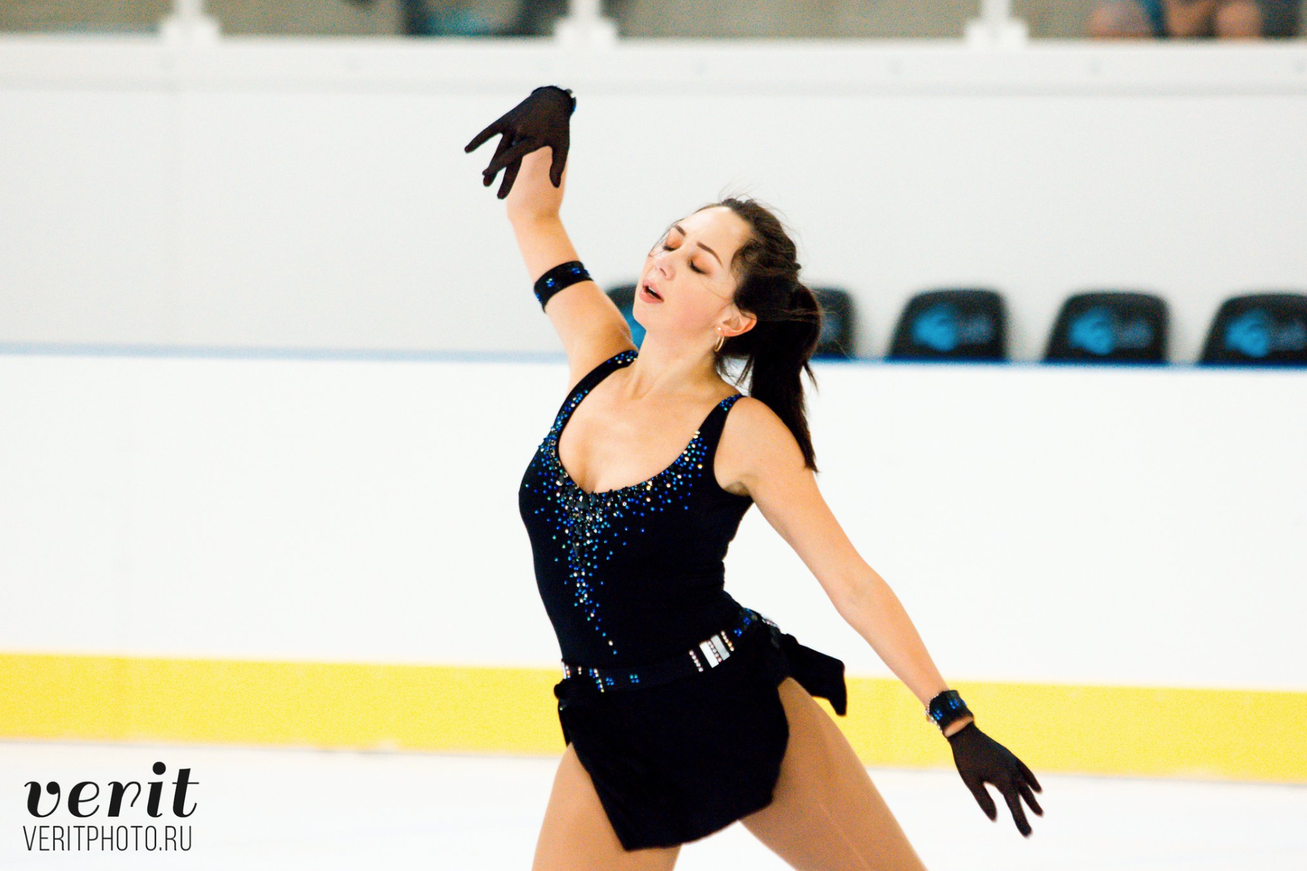 Elizaveta Tuktamysheva in practice at Lombardia Trophy (   photo by Verit   )