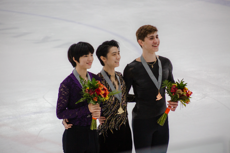 The mens medallists at Autumn Classic International (   Photo credit: Kat   )