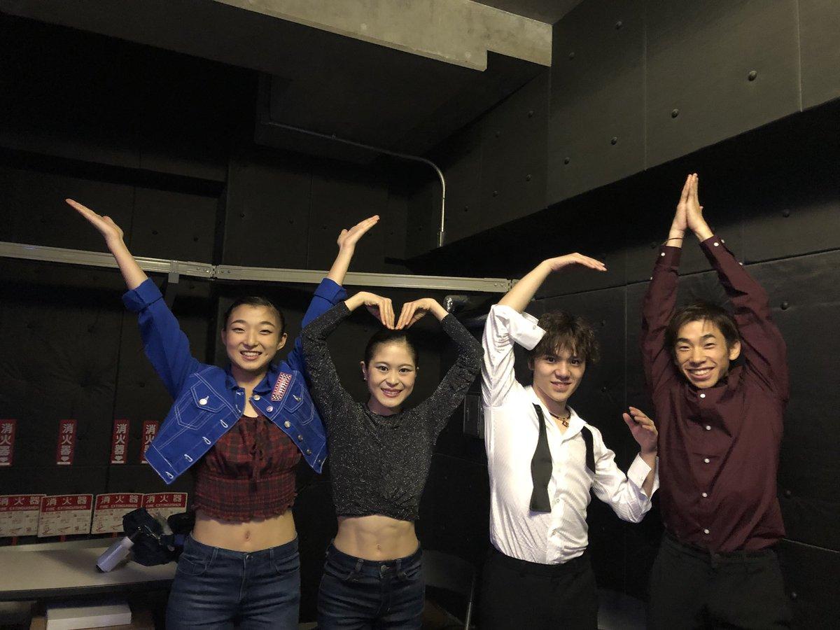 Team Japan doing the YMCA at Japan Open! (   Photo credit: Nobunari Oda   )