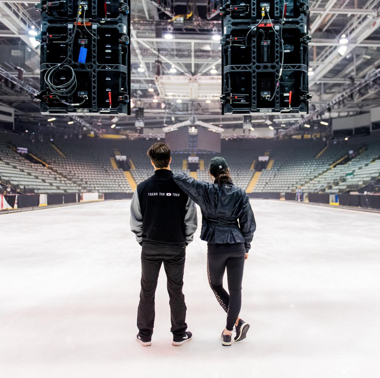 Tessa Virtue and Scott Moir kick off their Thank You Canada Tour (   Photo credit: Danielle Earl Photography/Tessa Virtue   )