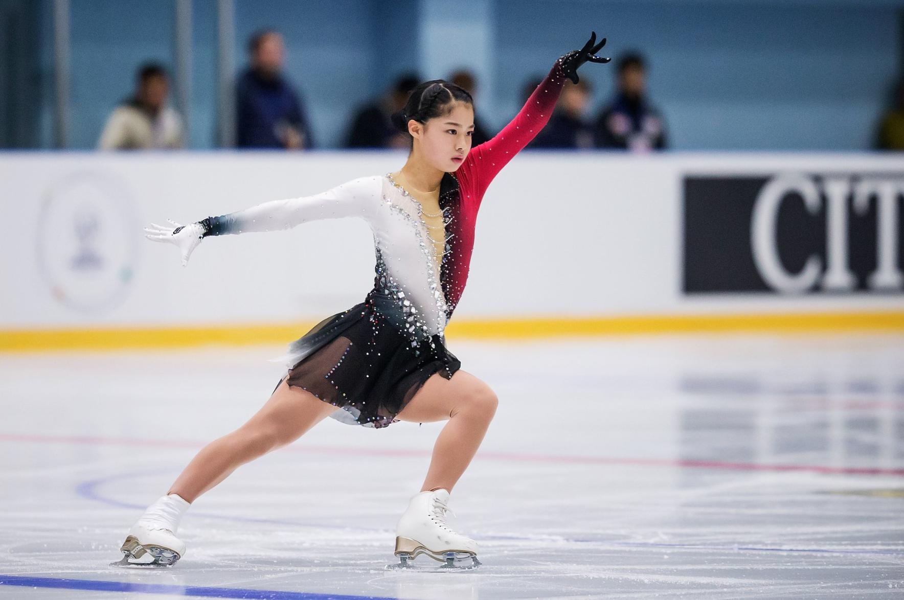"Yuhana Yokoi (JPN) performs her Free Skate to ""Phantom of the Opera"" at JGP Armenian Cup (   Photo Credit: ISU   )"