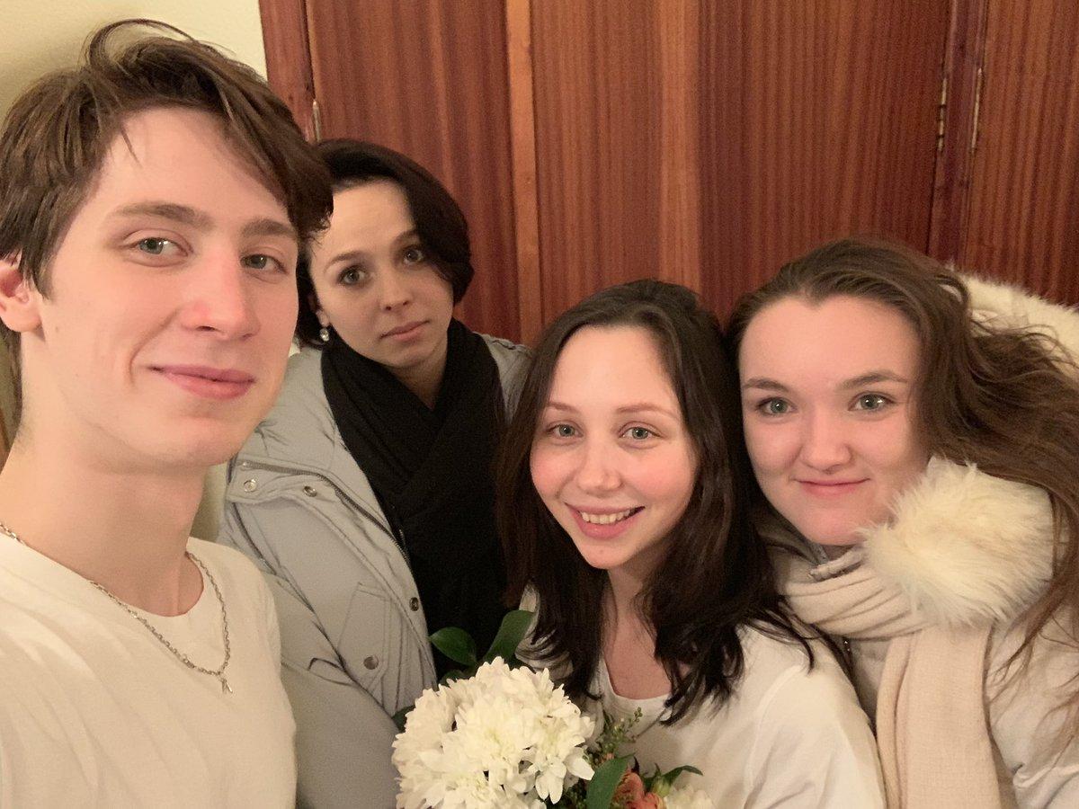 Elizaveta Tutkamysheva (RUS) celebrates her birthday in hospital (Photo credit:    Elizaveta Tutkamysheva   )