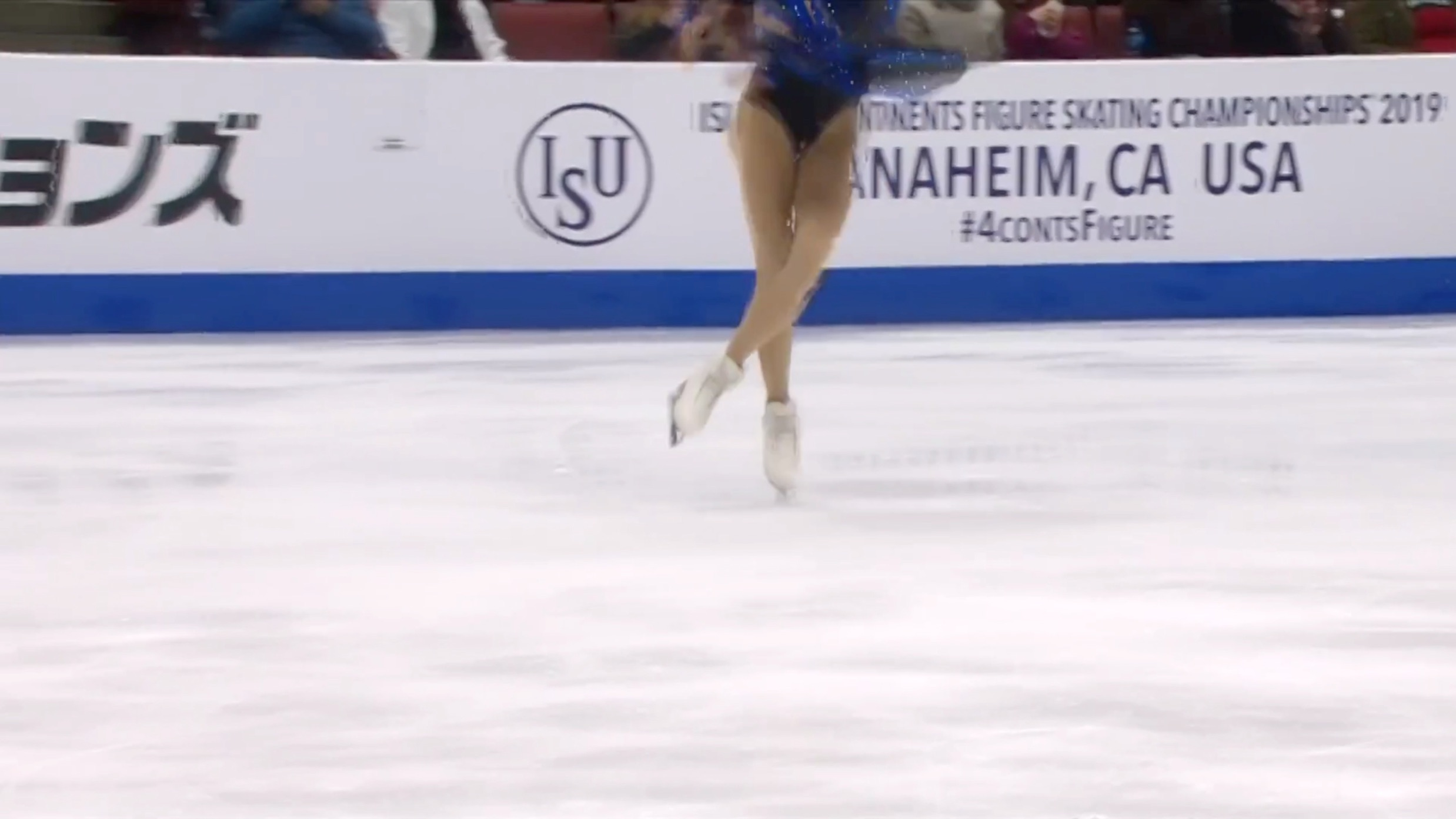 Bradie Tennell 3Lz(+3T), SP