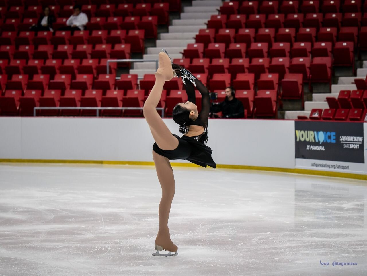 Yeonjeong Park during her Free Program.
